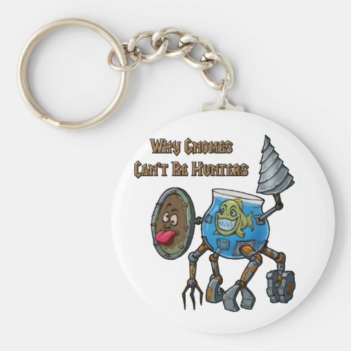 Why Gnomes Can't Be Hunters Key Chains