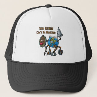 Why Gnomes Can't Be Hunters Trucker Hat