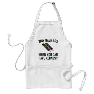 Why Have Abs? Adult Apron