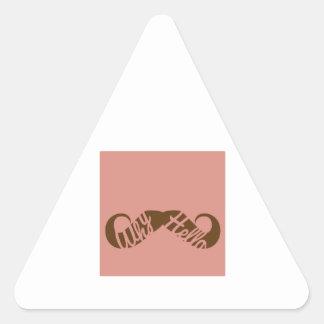 Why Hello Triangle Sticker