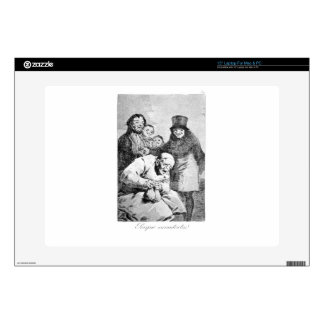 """Why hide them? by Francisco Goya Decal For 15"""" Laptop"""