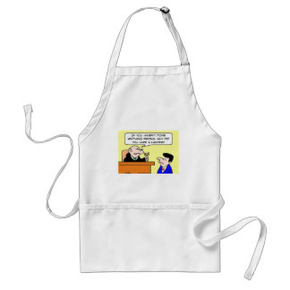 why hire lawyer judge adult apron