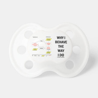 Why I Behave The Way I Do Sociobiology BooginHead Pacifier