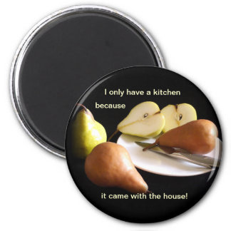 Why I Have a Kitchen 2 Inch Round Magnet