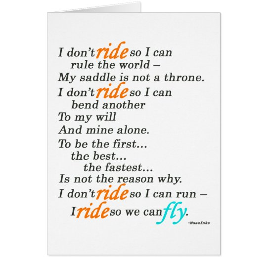 Why I Ride Card