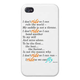 Why I Ride Cover For iPhone 4