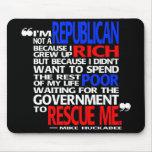 Why I'm a Republican - mousepad