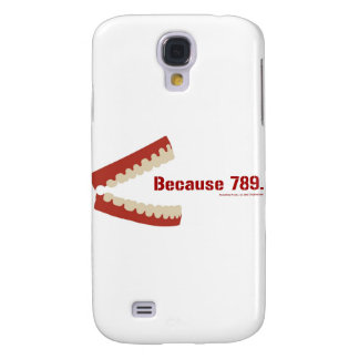 Why is 6 afraid of 7? samsung galaxy s4 cover
