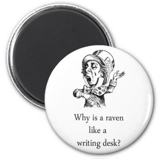 raven like a writing desk 06112016 5 discussion posts molly said: discuss, anna said: lewis carroll himself got bugged about this so much that he was moved to write the following in the.