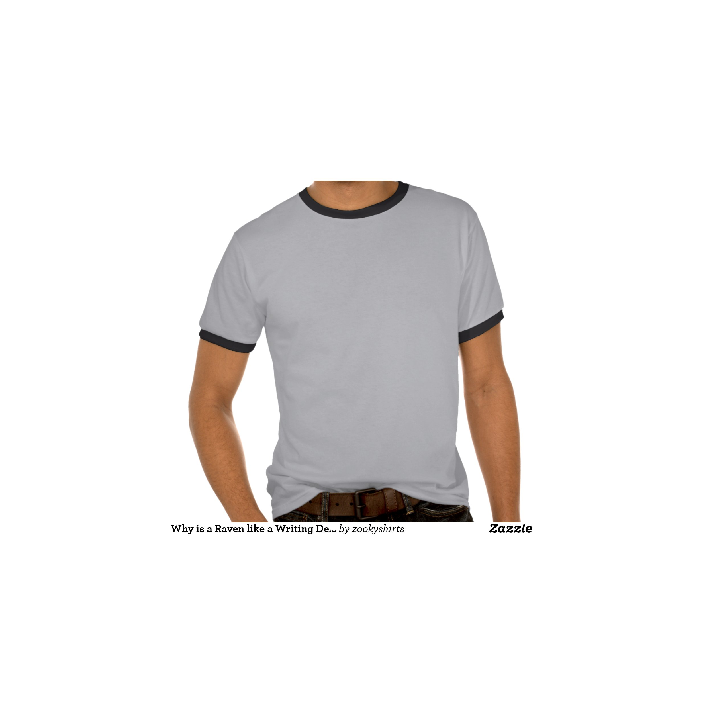 Very Impressive portraiture of why is a raven like a writing desk tee shirt  with #905D3B color and 2468x1296 pixels
