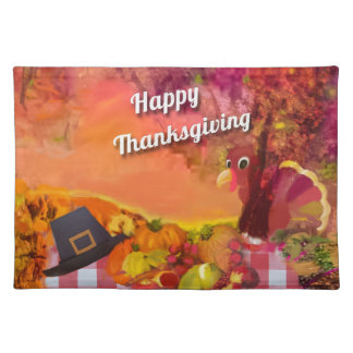 Why is the turkey hiding placemat