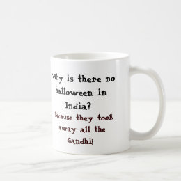 Why is there no halloween in India? Coffee Mug