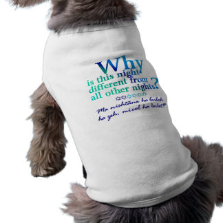 Why is this night doggie tee shirt