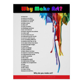 Why Make Art? Poster