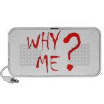 why me? laptop altavoces