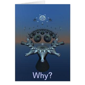 Why? Meditation 3D Fractal Card