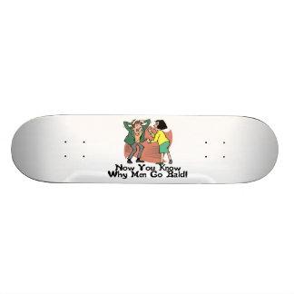Why Men Go Bald Skateboard