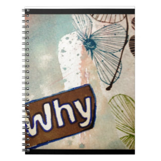 Why - mixed media art note books