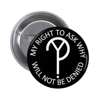 WhY? Movement Slogan- White Button
