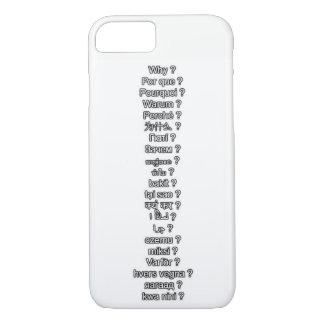 Why Multi-language iPhone 7 case