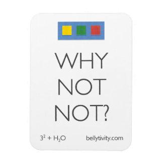 Why Not Not? bellytivity refrigerator magnet