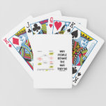 Why People Behave The Way They Do (Sociobiology) Poker Deck
