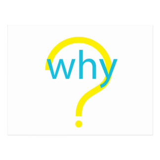 Why? Postcard