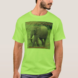 Why Put Off Elephant 2 T-Shirt
