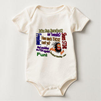 Why Run Barefoot? Baby Bodysuit