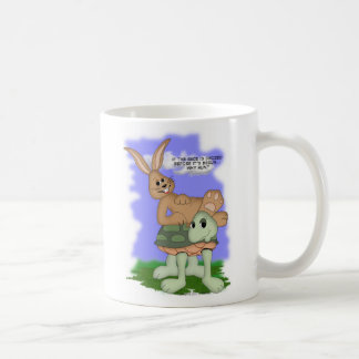 why run? coffee mug
