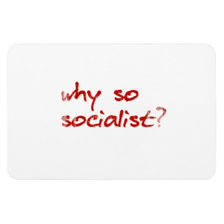 Why so red Faded png Rectangle Magnets