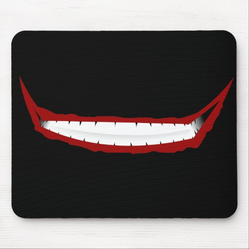 Why So Smiley? Mouse Pad