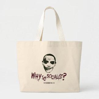 Why So Socialist? Canvas Bags