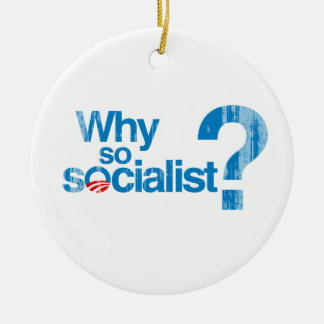 Why so socialist Faded png Ornament