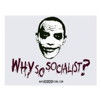 Why So Socialist? Postcard