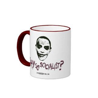 Why So Socialist? Ringer Mug