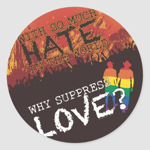 Why Suppress Love Stickers
