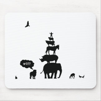 Why Take Freedom? Animal Stack. Mouse Pad