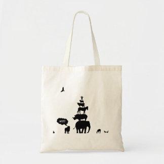Why Take Freedom? Animal Stack. Tote Bag