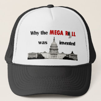Why the MEGA ROLL was invented. Trucker Hat