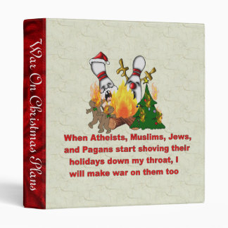 Why There's War On Christmas Binder