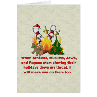 Why There's War On Christmas Card