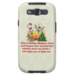 Why There's War On Christmas Samsung Galaxy S3 Cover