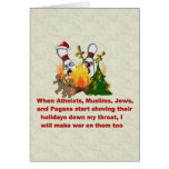 Why There's War On Christmas Greeting Card