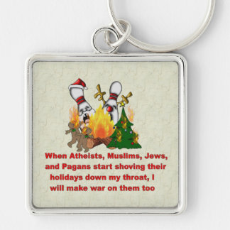 Why There's War On Christmas Keychain
