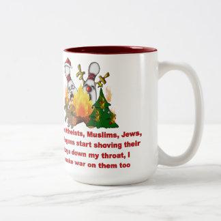 Why There's War On Christmas Two-Tone Coffee Mug