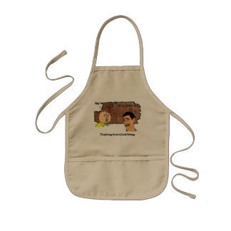 Why U NO Guy and Laughing Guy Greek to Me Meme Kids' Apron