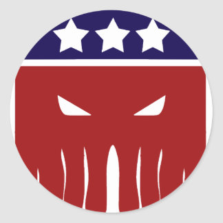 Why Vote for the Lesser Evil? Classic Round Sticker