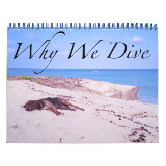 Why We Dive Calendar