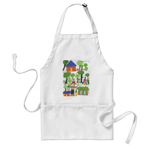 Why We Need Bathrooms! Apron
